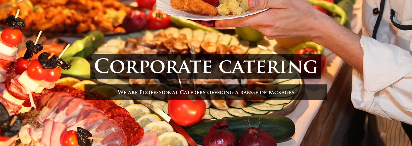 catering order for corporate professionals